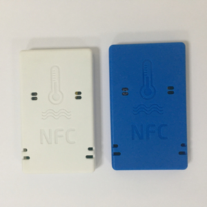 Waterproof wireless NFC temperature and huminity recorder for chemical ,cold chain , healthcare products