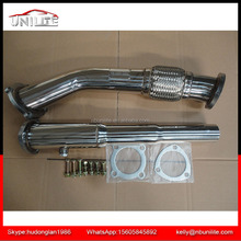 Stainless Steel Exhaust Pipe Downpipes stainless for 99-05 VW JETTA BEETLE GOLF MK4 1.8T GTI/GL