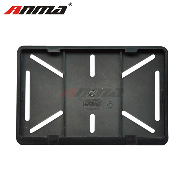 Plastic License Plate Frame Car Licenses Plate Covers Holders For US Vehicles