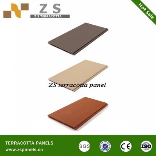 Terracotta Louver Exterior Wall Coping Tile Exterior Wall