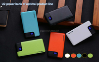 Wholesale New Mobile charger slim power bank 6000mah, portable phone charger with Led Display function