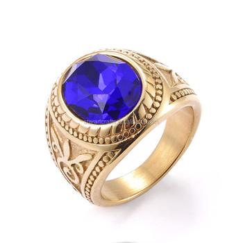 latest gold finger ring designs men s ring men ring model Big
