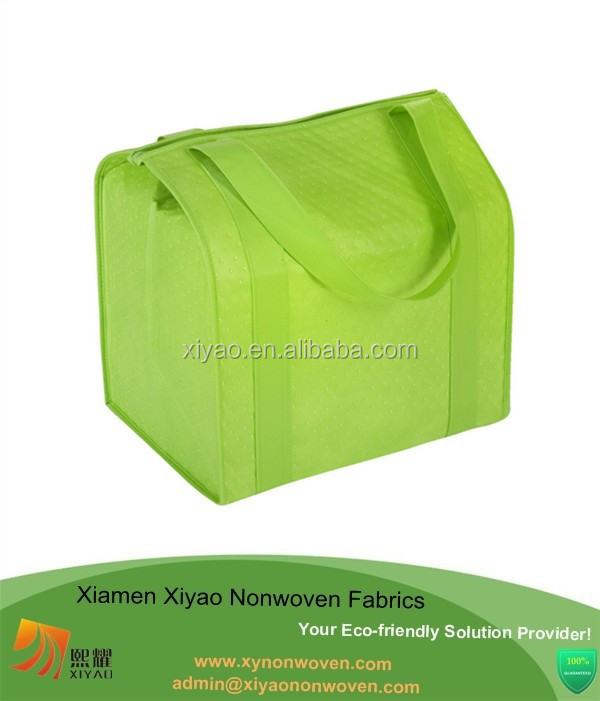 Green customized non woven shopping bags eco friendly tote bags