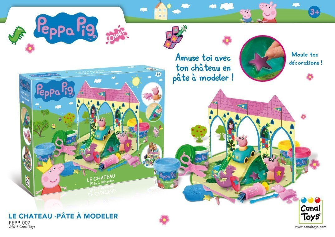 Buy Peppa Pig Castle Dough Play Set In Cheap Price On M Alibaba Com