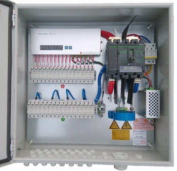 16 Channels Pv Smart Combiner Box With Leakage Current