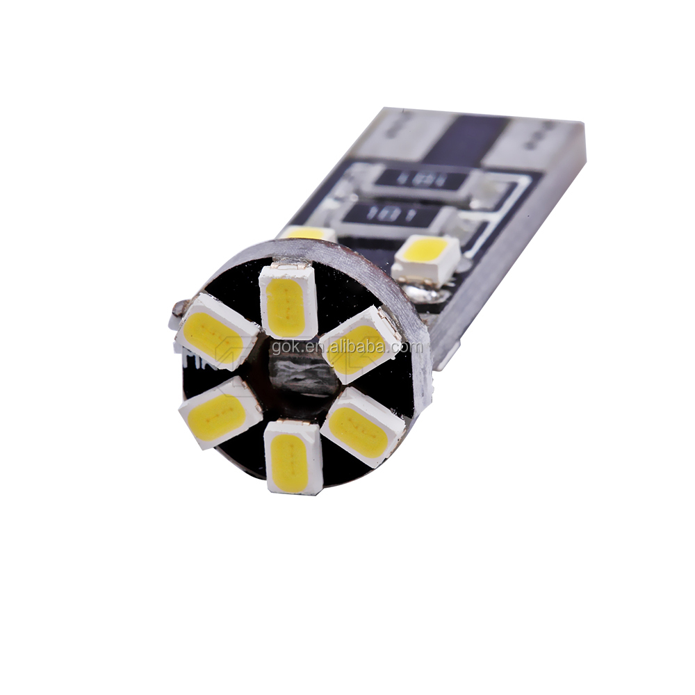 car led Canbus T10 10led 1206 3020 smd Led No Obc Error 194 168 W5w t10 10smd Interior Lights Bulb Lamp Light