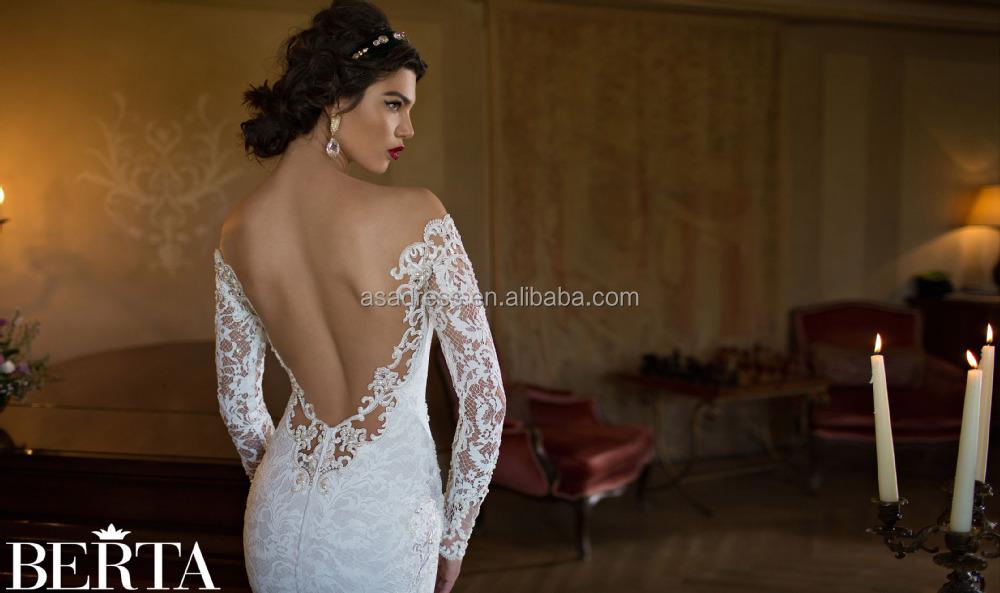ESTILO OCCIDENTAL sexy sirena vestido de novia para la mujer Fat ...