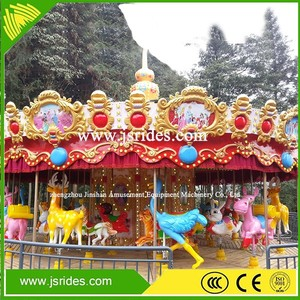 China manufacture amusement rides carousel for sale