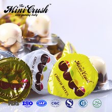 Hot sale mini wafar bar chocolate cup with mini biscuit