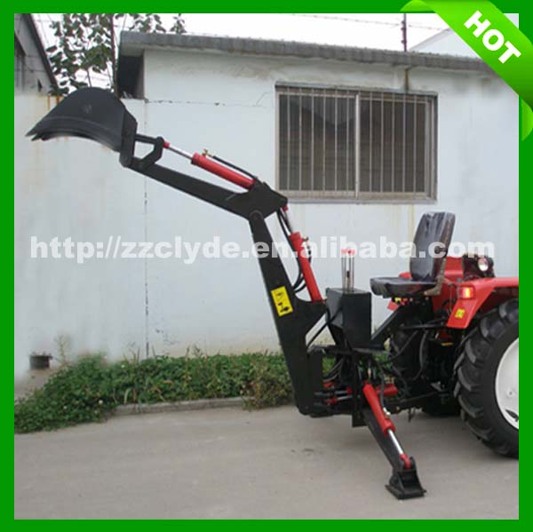 2017 hot sales tractor 3 pt backhoe