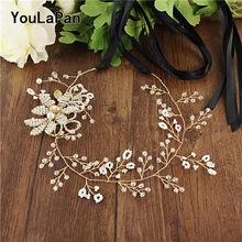 Женский пояс для подружки невесты youpapan SH68, золотой пояс с цветочным принтом, свадебный пояс для подружки невесты(Китай)