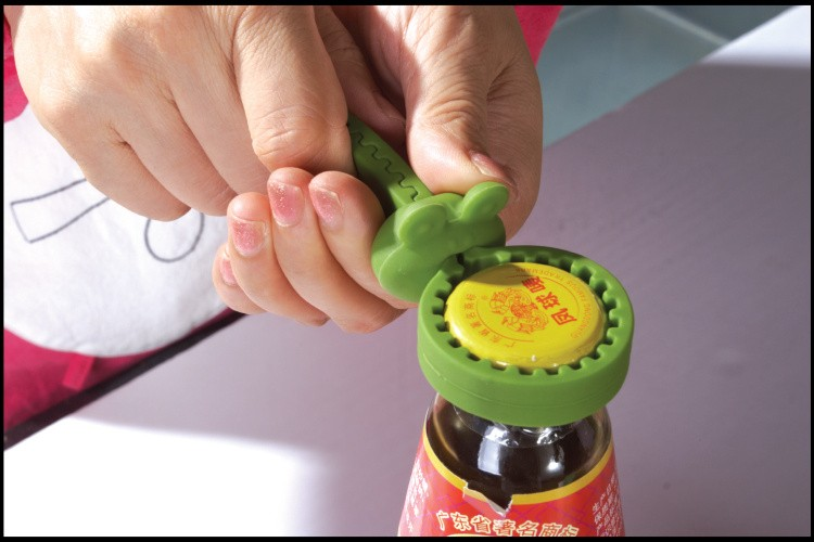 Souvenir Gifts Promotion Safety Twister Silicone Rubber Jar Opener