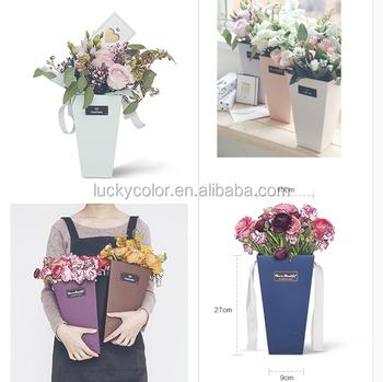 New Design Flower Gift Box Packaging Luxury Paper Flower Box