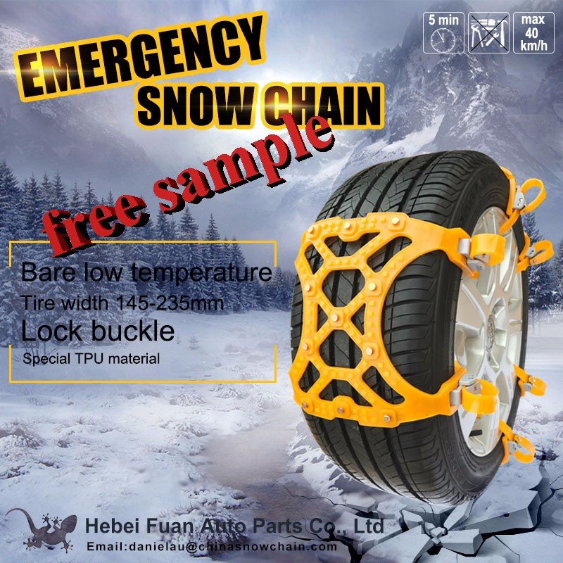 TPU passenger car snow road snow chain accessories