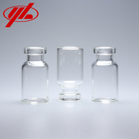 GMP Certified 2ml Transparent Low Borosilicate Small Glass Vial for Injection