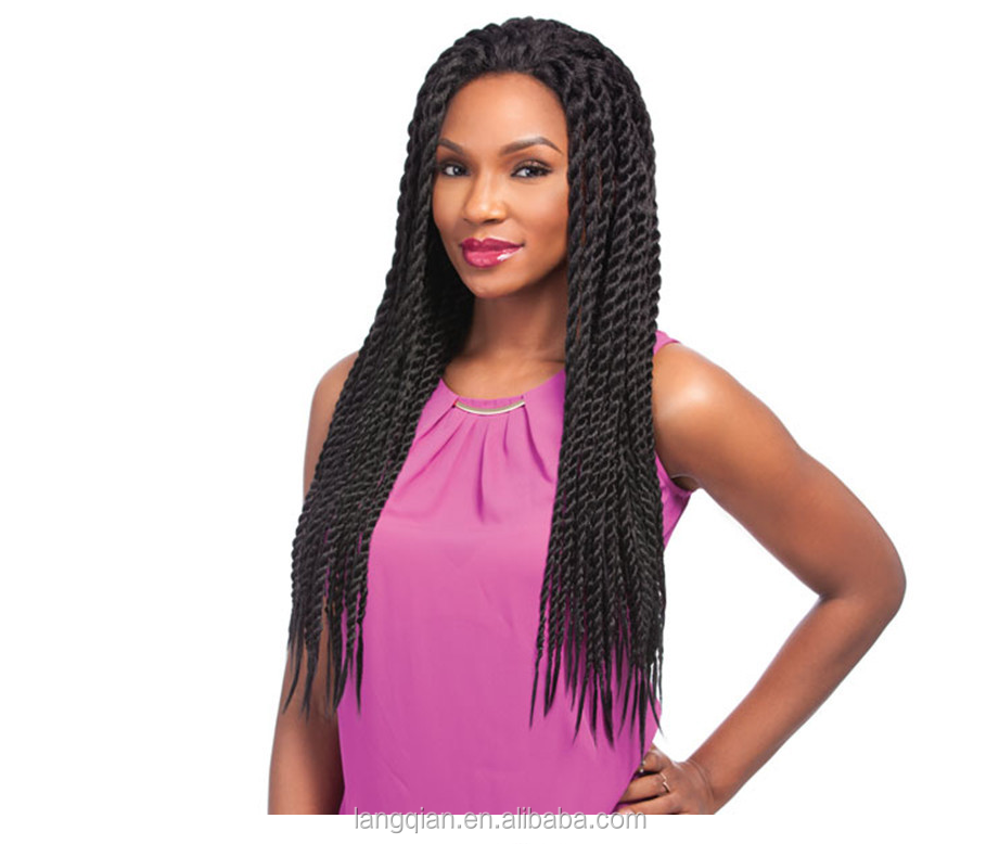 alibaba express handmade natural black synthetic kinky2 braids twist braided frontal lace hair wig
