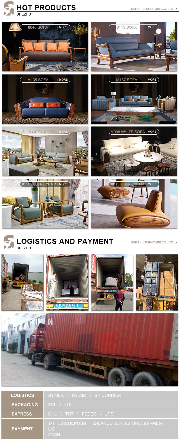 Sofá de la sala de muebles diseños modernos de cuero genuino sofás muebles de sala