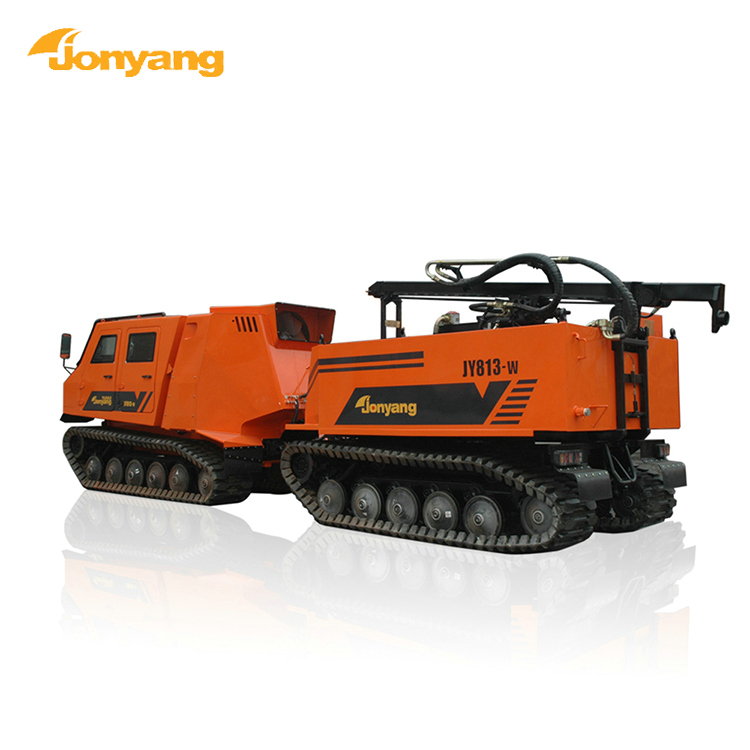 All terrain geophysical prospecting drilling equipment excavator