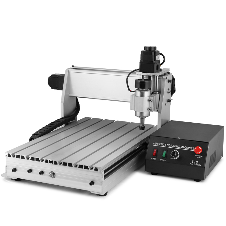 Updated New CNC 3040T Router Engraver Drilling and Milling Machine 3Axis Carving Cutting Tool Woodworking Cnc Router