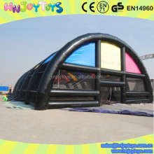 Giant outdoor tent tennis court inflatable, inflatable tent tennis court, tent tennis court