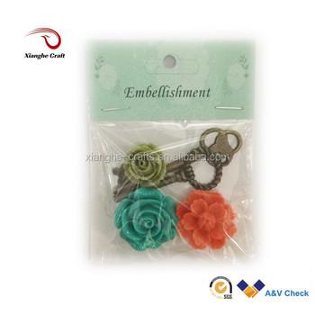 Large resin craft rose flower cabochons for kids craft for Craft kits for kids in bulk