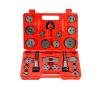 21pc Universal Disc Brake Caliper Piston Pad Car Rewind Wind Back Auto Repair Tool Kit
