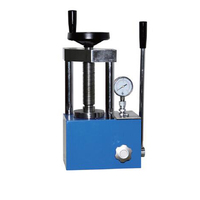 Small Hand Manual Electrode Hydraulic Press