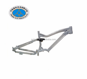 wholesale 2018 new 27 5 inch 29inch aluminum full suspension mtb frame for Bafang motor