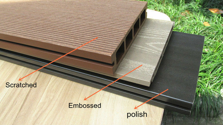Sfd07 protect privacy wpc factory wpc fence wpc panel wood plastic composite fence decking anti for Exterior wood decking materials
