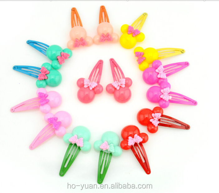 Hot Selling Novelty Kids Hairpin Accessories Wholesale Girls Hairpin