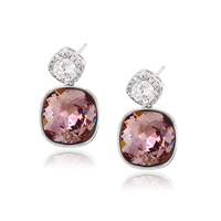 92610-simple fashion jewelry accessories for women Crystals from Swarovski, beautiful earring designs for women