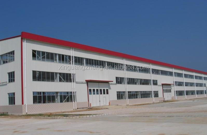 light shed warehouse design and construction steel frame pre-fabricated workshop