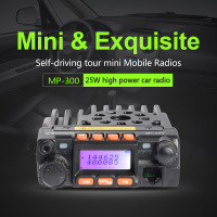 The same with QYT KT-8900 moblie radio ZASTONE MP300 UHF/VHF dual band 25W powerful dual band mobile radio