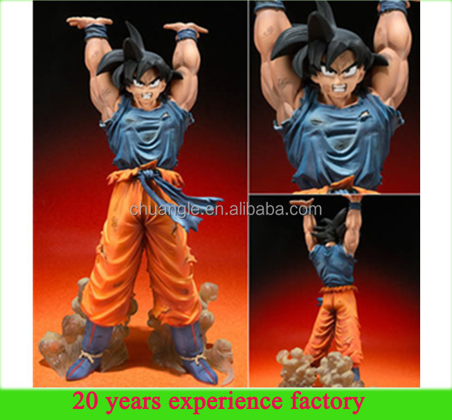 canton fair 2016 custom wholesale plastic dragon ball z action figures dragon ball super saiyan goku