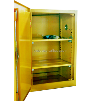 Flammable Fireproof Chemical Class Biosafety CabinetYellowRed - Fireproof chemical cabinet