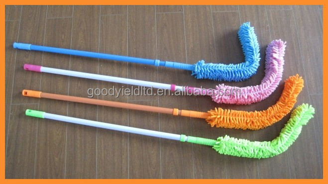 2015 new long handle bendable clean duster(telescopic)