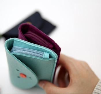 Wholesale novelty cute felt business card holder with strap for wholesale novelty cute felt business card holder with strap for girls colourmoves