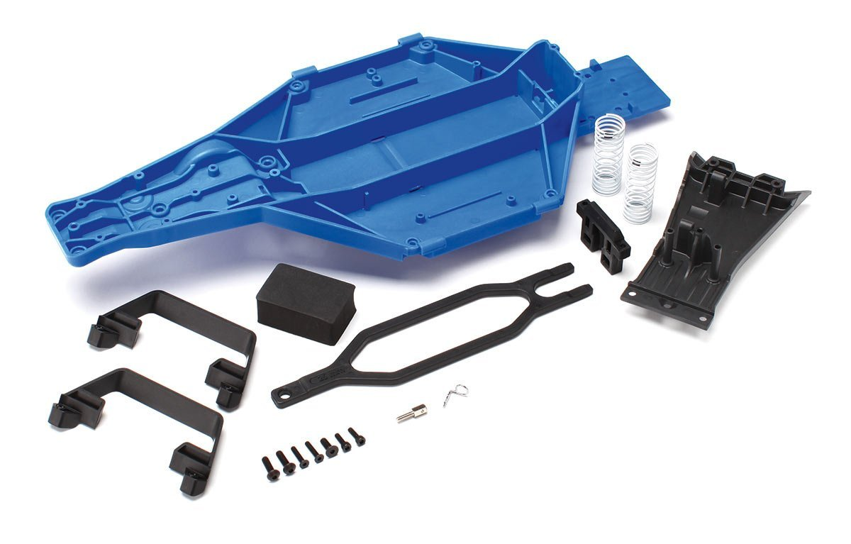 Traxxas 5830 Low-CG Conversion Kit for 1/10 Scale Slash 2WD, Blue