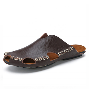 ac657ffaba9e Leather Mens Sandals