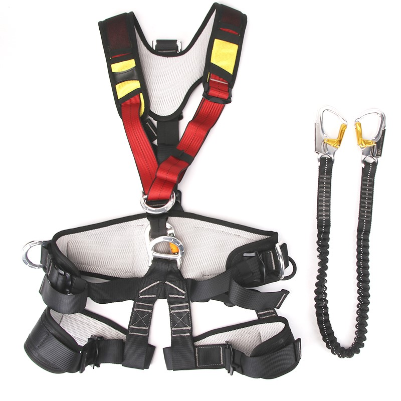 Professional China factory high quality climbing full body harness safety training