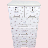 Plastic Storage Cabinet With 5 Drawers