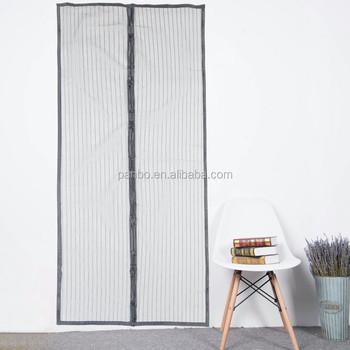 BaiChuan Folding Magnetic Double Door Screen Mesh