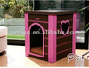 Discount!!! 2015 New Arrival PU Leather Fabric High Quality New Soft Pet House