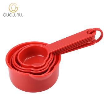 Ordinaire Colorful Stackable Plastic Measuring Cups Set Of 5Pcs/ PP Plastic Kitchen  Measuring Tools