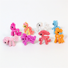 Cheap 3D plastic my pony horse little toy