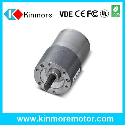good quality low noise eccentric shaft gear box dc gear motor with 1:60 speed ration