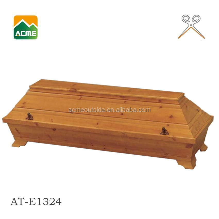 AT-E1324 European style cardboard coffin Manufacturer