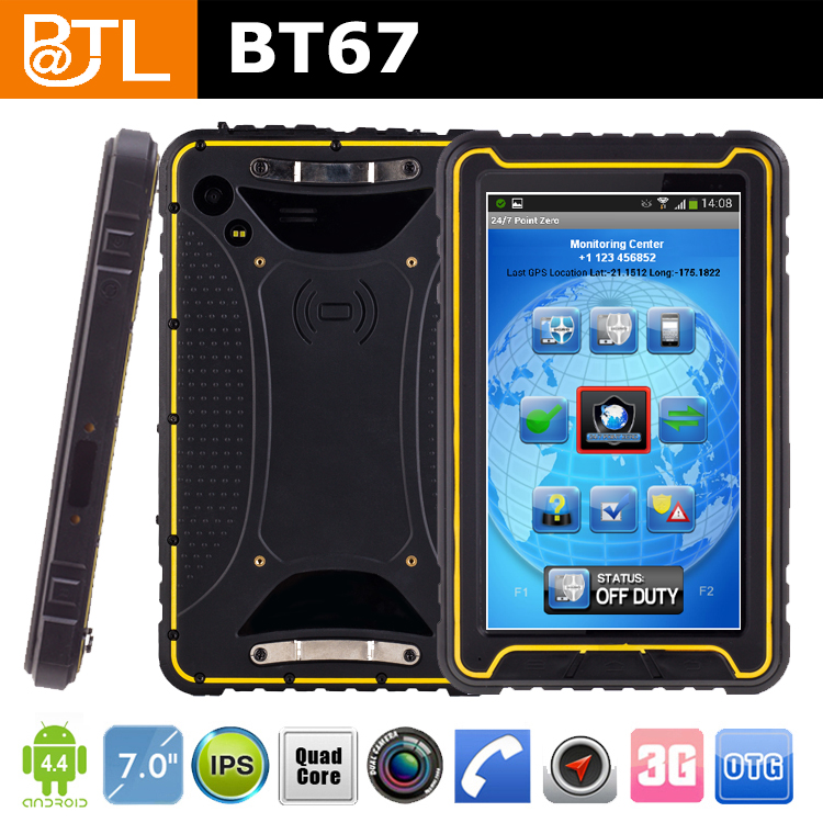 gold supplier BATL BT67 CL563 7 inch tablet pc with keyboard and sim card sunlight readable