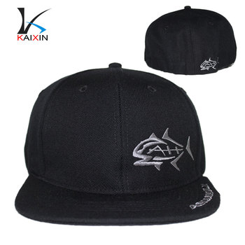705dee50464 custom promotional flat brim flexfit 3d embroidery logo hip hop baseball 5 6  panel snapback