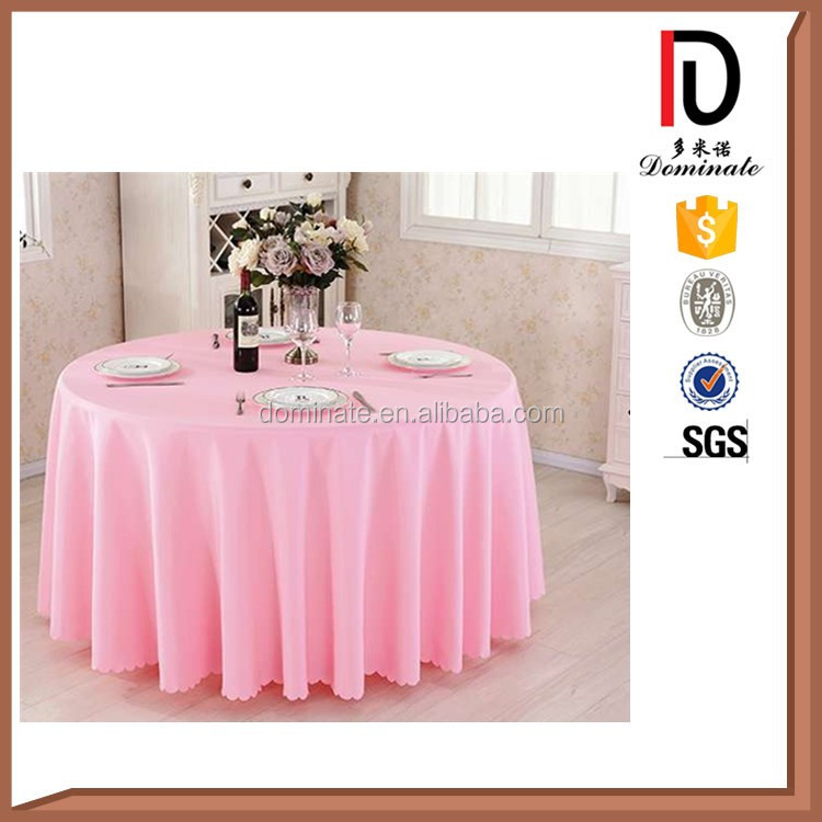 Hot Sale Factory Price High Quality Luxury Stretch Plain Round Table Cover